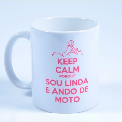 Caneca Keep Calm Linda