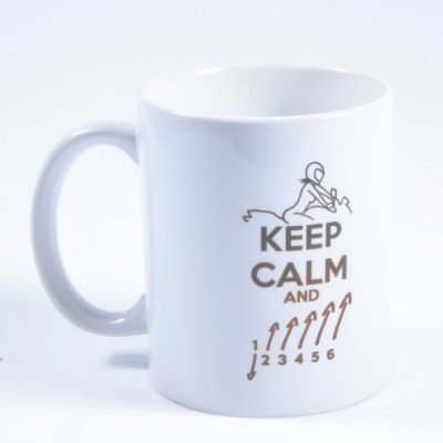 Caneca Keep Calm Marchas