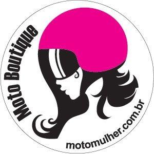 Adesivo Moto Mulher - Frete Grátis