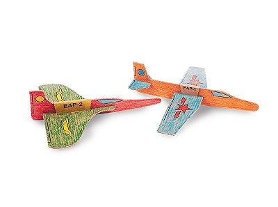 Avião de Papelão para Montar