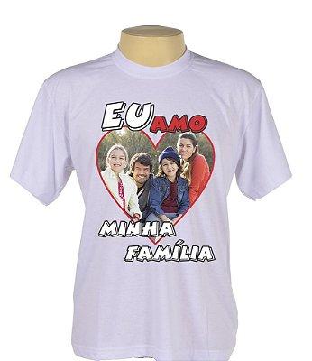 Camiseta P, M e G Somente na cor Branca 100% Poliester