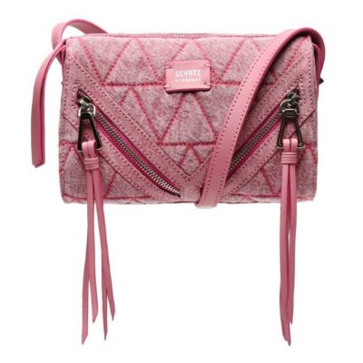 Bolsa Schutz Pequena Rosa Jeans - S5001813910002