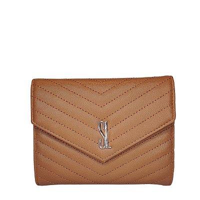 Bolsa Santa Lolla Clutch Caramelo - 047125D401ED00EC