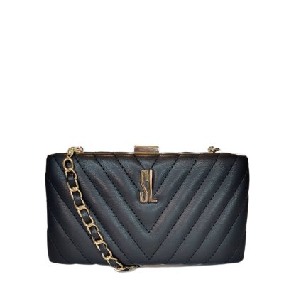 Bolsa Santa Lolla Clutch Preta - 045125D600890001