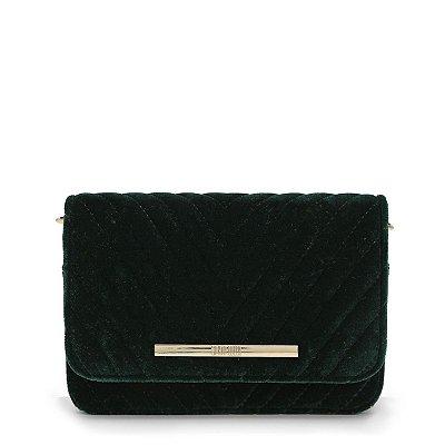 Bolsa Santa Lolla Veludo Verde - 047027AE01010232