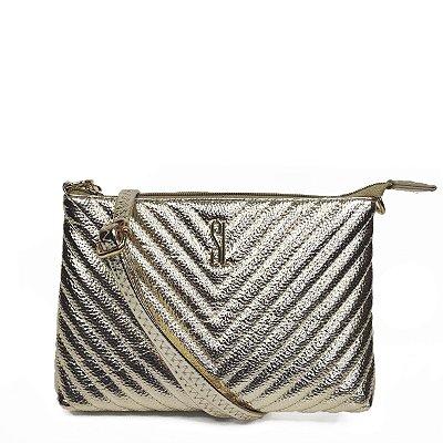 Bolsa Santa Lolla Pequena Dourada - 47027AC01520022