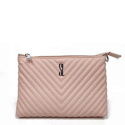 Bolsa Santa Lolla Pequena Rosa Claro - 47027AC00890253
