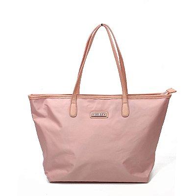 Bolsa Santa Lolla Nylon Rosa Claro - 45925D9004201D8