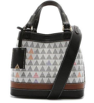 Bolsa Schutz Mini Tote Neo Emma Triangle Branca - S5001811850002