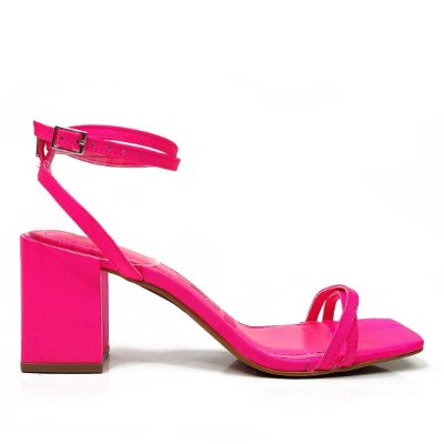 Sandália Santa Lolla Amarração Pink Neon - 035D29150002033C