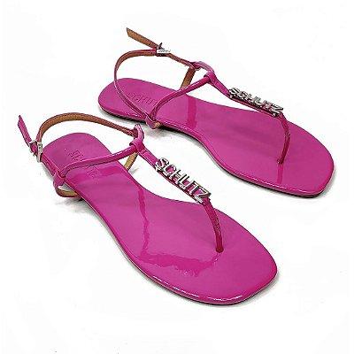 Rasteira Schutz Aplique Pink - S0116800890053