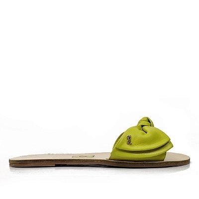 Rasteira Santa Lolla Laço Verde Avocado - 03E432B302E702B8