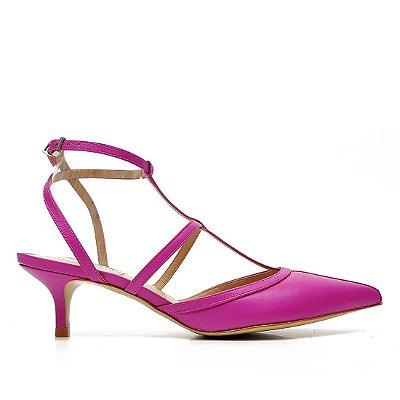 Scarpin Schutz Tiras Pink - S2084100260001
