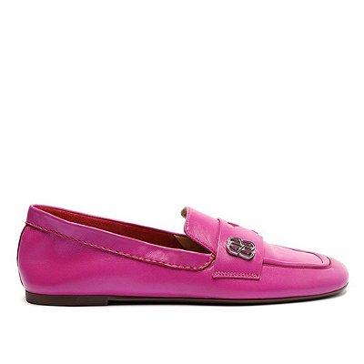 Mocassim Schutz Couro Pink - S2123100010015