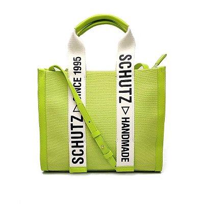Bolsa Schutz Lona Pequena Verde Lima - S5001002310001