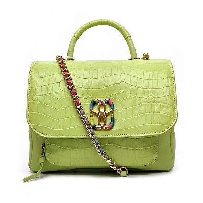 Bolsa Schutz Média Rainbow Verde Neon - S5001815290009