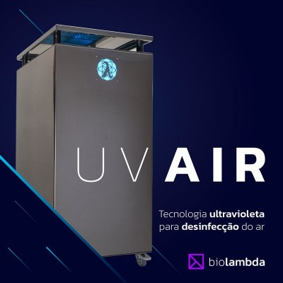 UV AIR 500 | Purificador de Ar Industrial