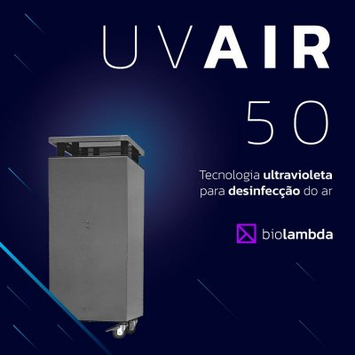 UV AIR 50 | Purificador de Ar Doméstico
