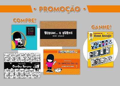 Promoção COMPRE 4 Livros de Tiras e GANHE 1 Revistinha!