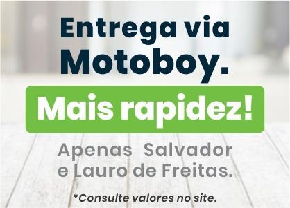 Entrega via Motoboy