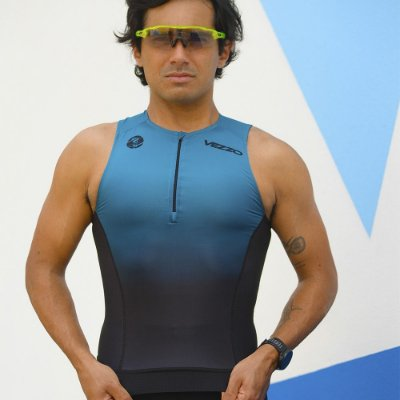 Top Triathlon Masculino Vezzo Kauai