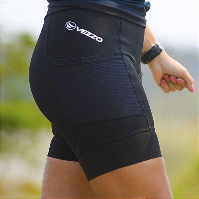 Bermuda Running Feminina Vezzo