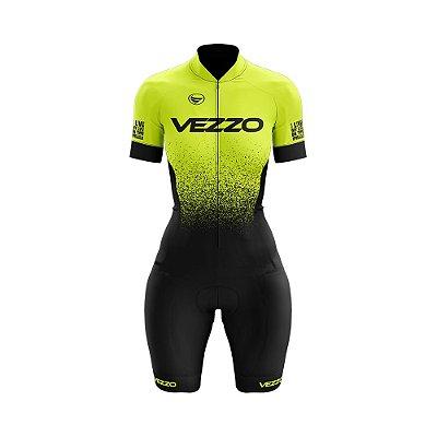 Macaquinho Ciclismo FORZA - Fluor