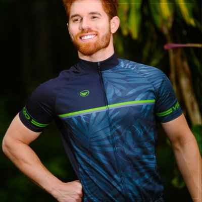 Camisa Ciclotour Masculina Vezzo NIGHTVISION