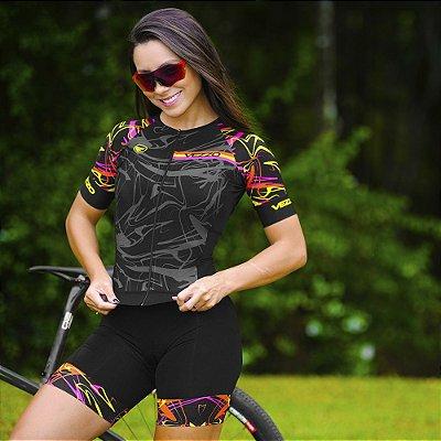 Macaquinho Ciclismo Carbon - RAVE PRETO