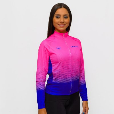 Camisa Vezzo Ciclotour Feminina Andromeda