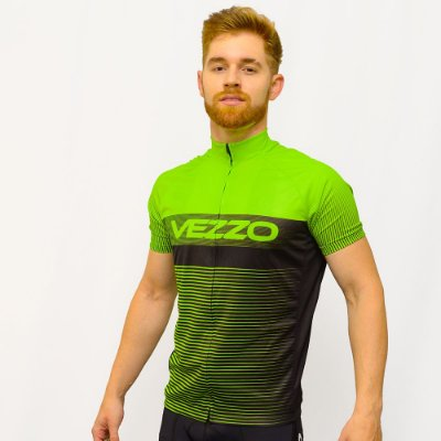 Camisa Vezzo Ciclotour Masculino Lightning Green