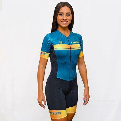 Macaquinho Ciclismo Vezzo Gamma