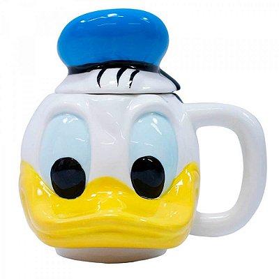 Caneca 3D Pato Donald Porcelana 470ml