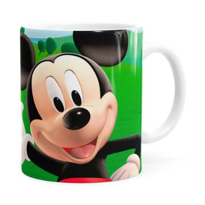 Caneca A Casa do Mickey Mouse Branca