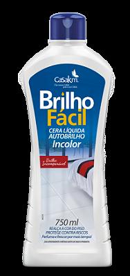 CERA LIQUIDA BRILHO FACIL INCOLOR 750ML