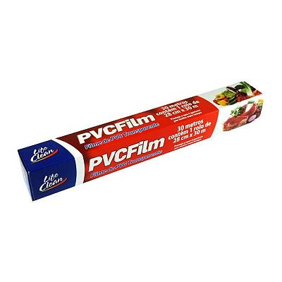 FILME DE PVC TRANSPARENTE LIFE CLEAN 30M