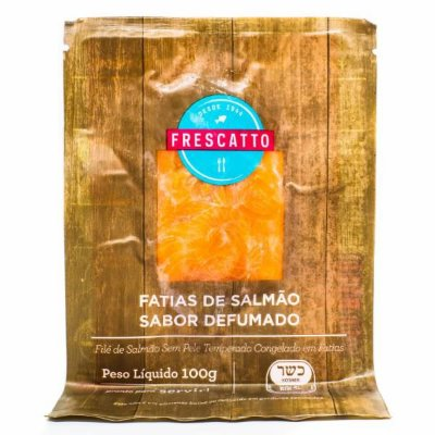 SALMON PREM DEF FATIADO FRESCATTO 100G