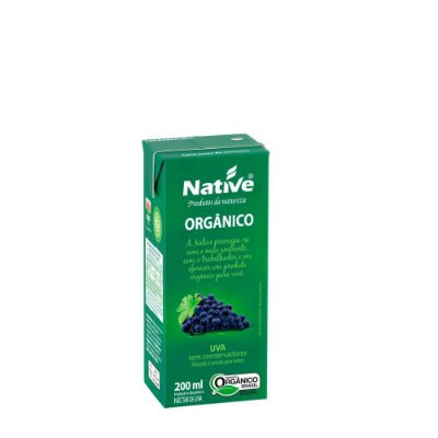 NECTAR UVA ORGANICO NATIVE 200ML