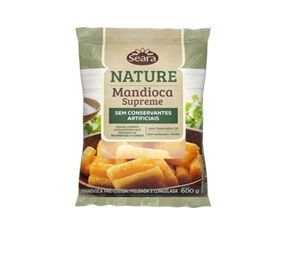 MANDIOCA CONGELADA NATURE SEARA 600G