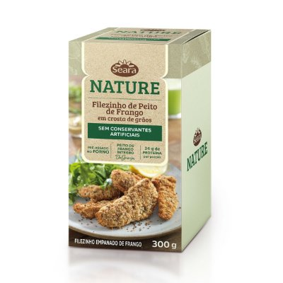 FILEZINHO DE PEITO DE FRANGO NATURE SEARA 300G