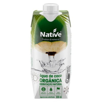 AGUA DE COCO NATIVE ORGANICA 330ML