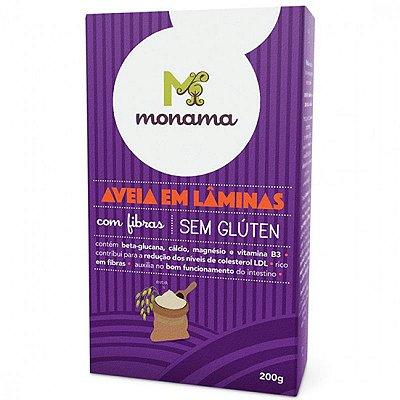 AVEIA MONAMA EM LAMINAS ORGANICA 200G