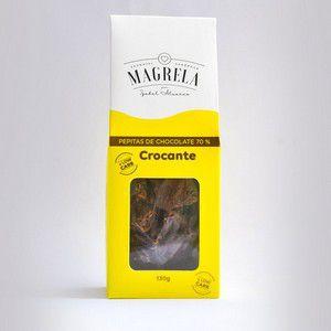 PEPITA DE CHOCOLATE CROCANTE MAGRELA 130G
