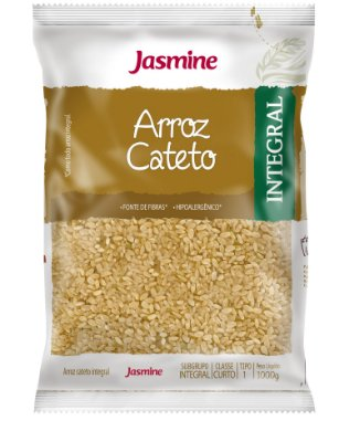 ARROZ CATETO INTEGRAL 1KG JASMINE