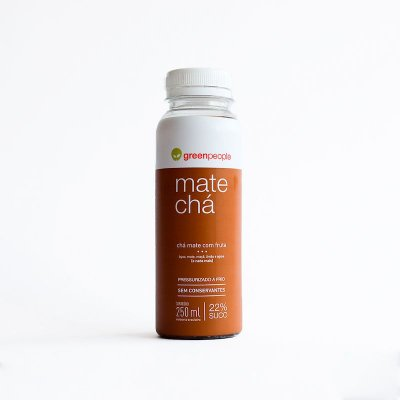 CHA GREENPEOPLE MATE COM FRUTAS 250ML