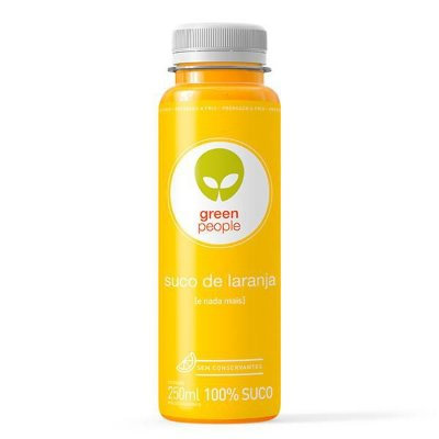 BASIC GREENPEOPLE SUCO DE LARANJA 250ML