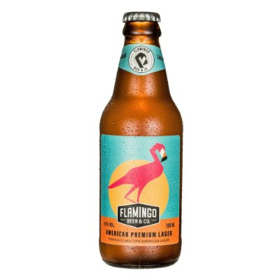 AMERICAN PREMIUM FLAMINGO BEER LAGER 300ML