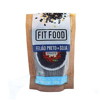 ESPAGUETE FIT FOOD DE FEIJAO PRETO ORGANICO 200G