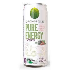 PURE ORGANIQUE ENERGY ZERO ORGANICO 310ML