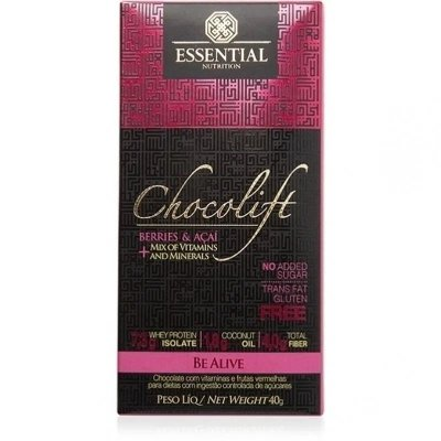 CHOCOLIFT ESSENTIAL NUTRITON BERRIES E ACAI 40G